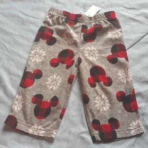 Disney baby Christmas pajama pant NEW
